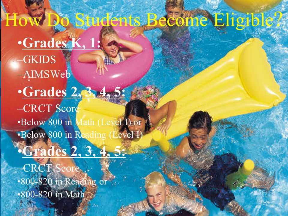How Do Students Become Eligible