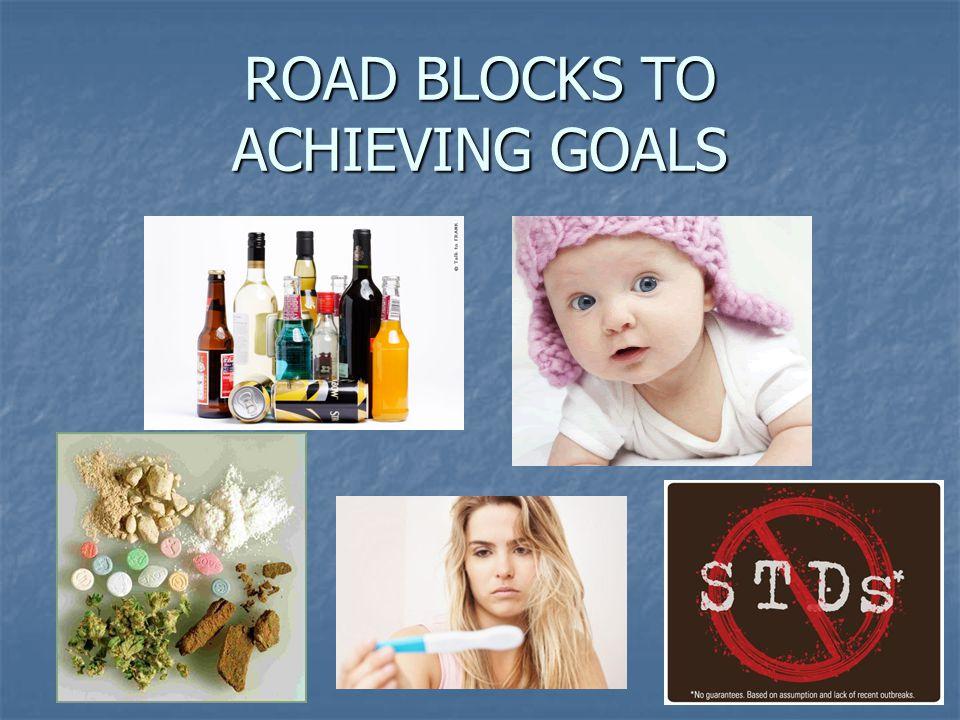 ROAD BLOCKS TO ACHIEVING GOALS