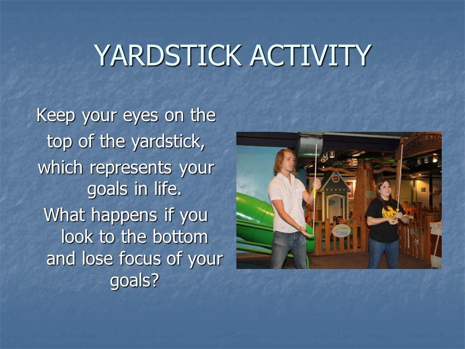 YARDSTICK ACTIVITY