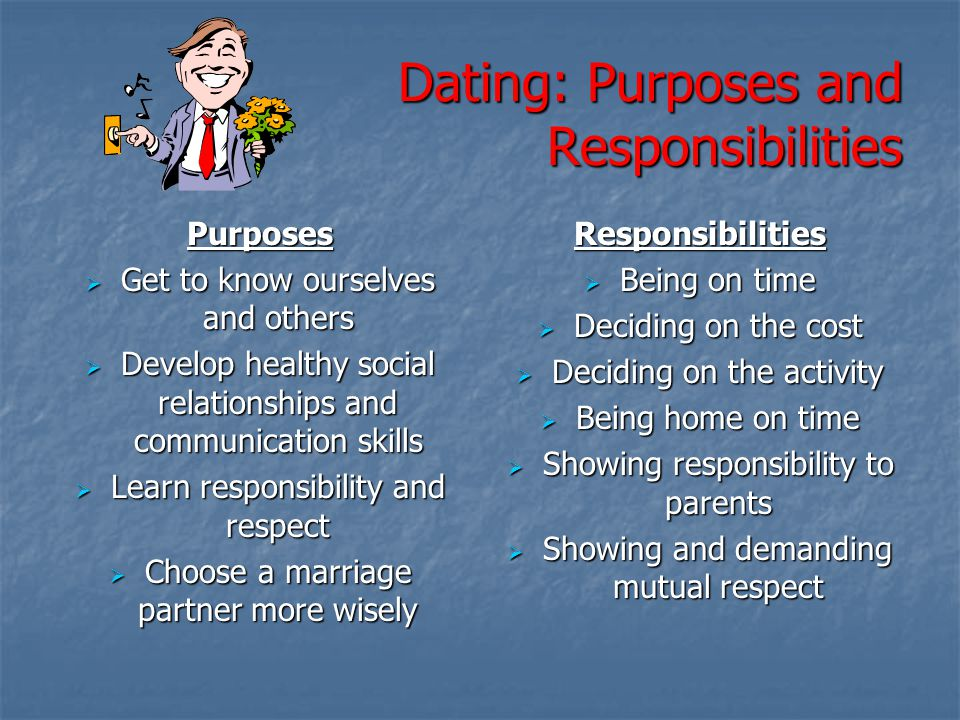 Dating: Purposes and Responsibilities