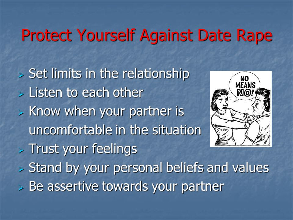 Protect Yourself Against Date Rape