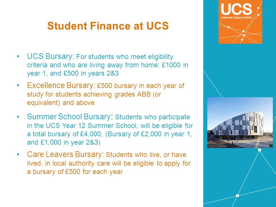 Student Finance at UCS