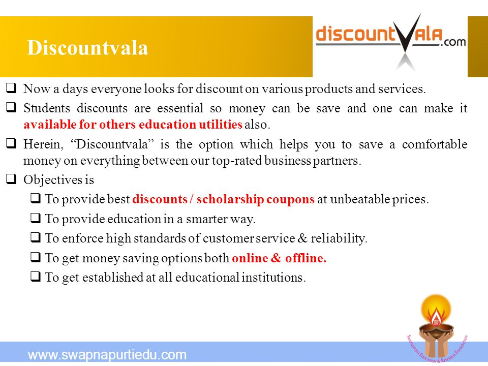 Discountvala Now a days everyone looks for discount on various products and services.
