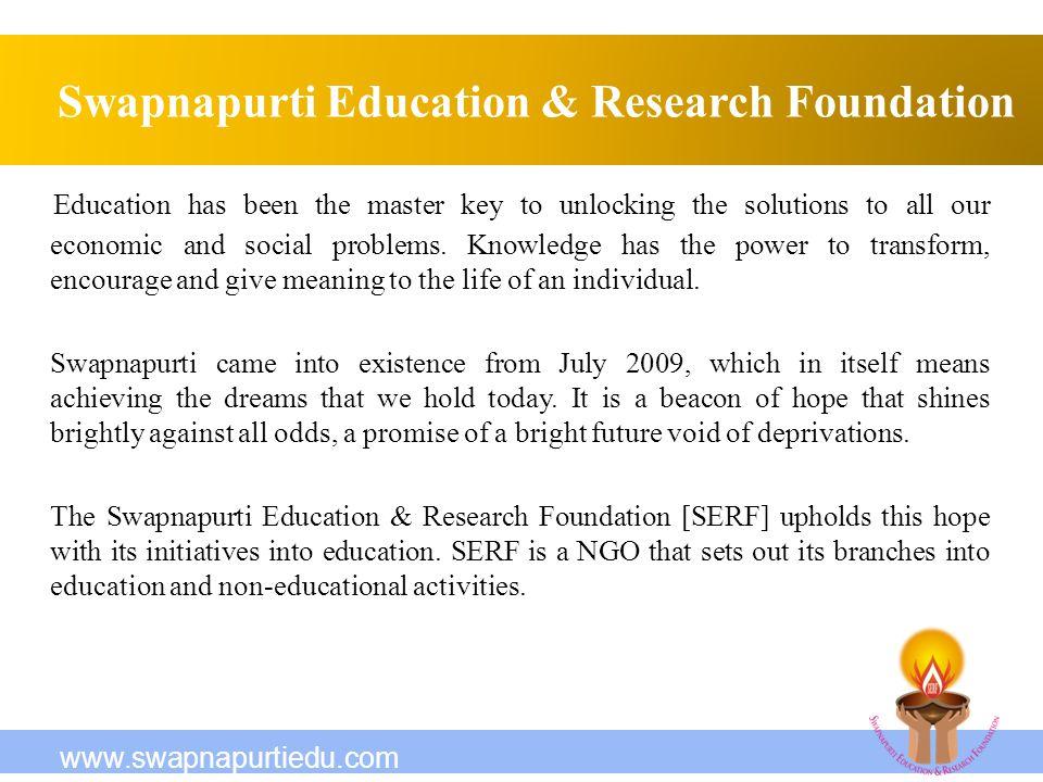 Swapnapurti Education & Research Foundation