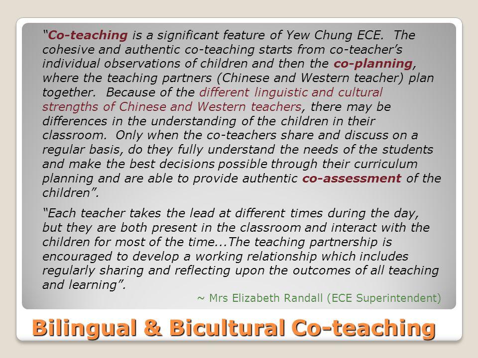 Bilingual & Bicultural Co-teaching