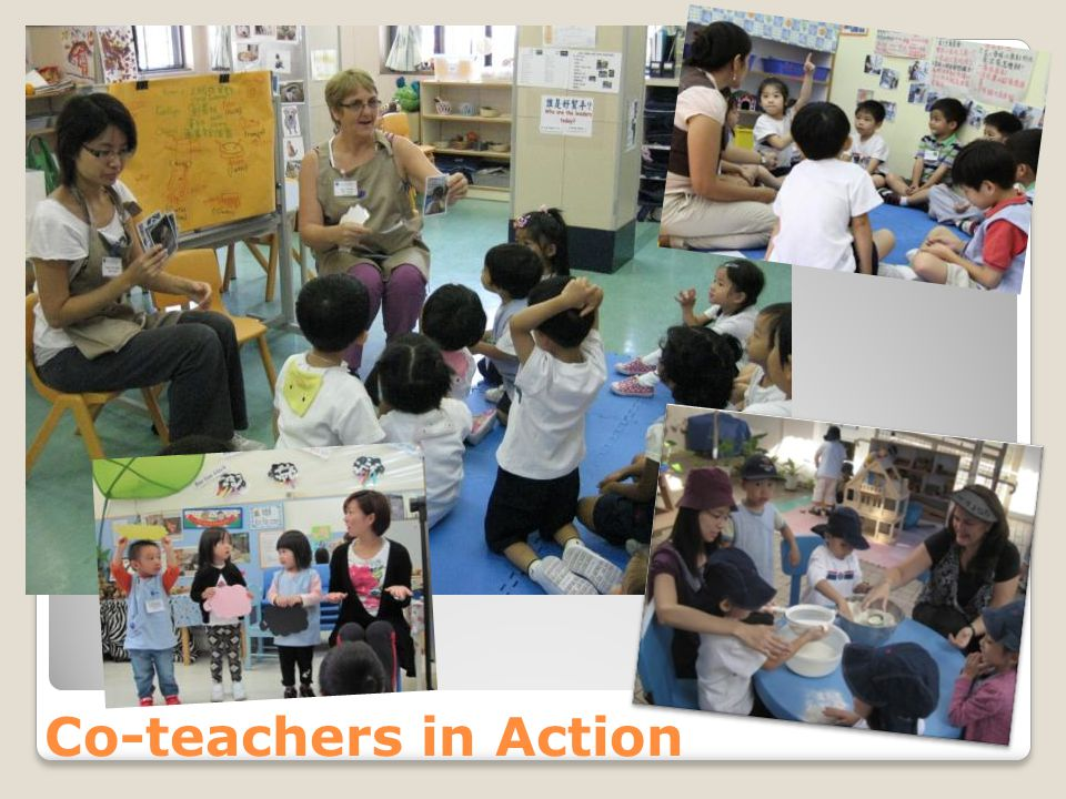 Co-teachers in Action