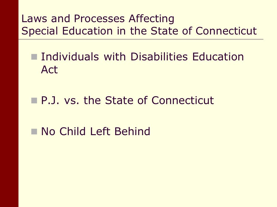 individuals with disabilities education act 2 essay Act is committed to serving examinees with documented disabilities by providing reasonable accommodations appropriate to the examinee's diagnosis and needs act has established policies regarding documentation of an examinee's disability.