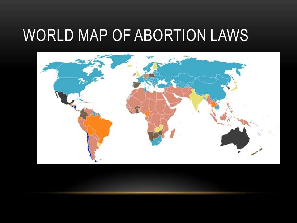 World Map of Abortion Laws