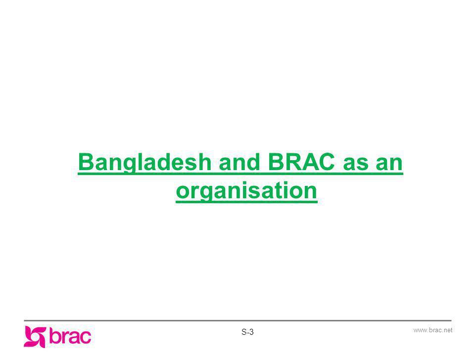 Bangladesh and BRAC as an organisation