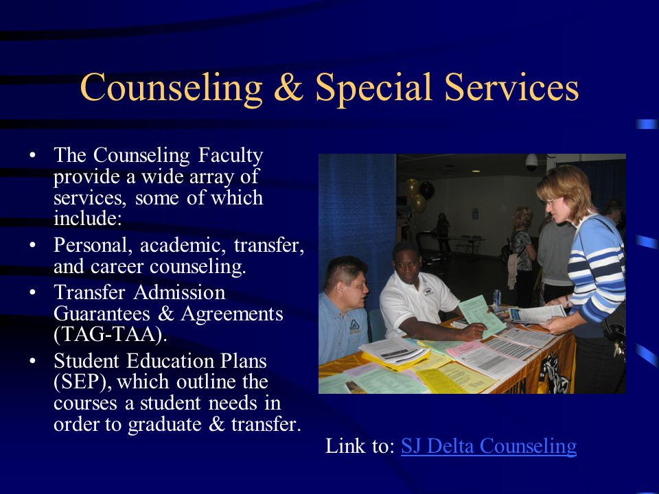 Counseling & Special Services