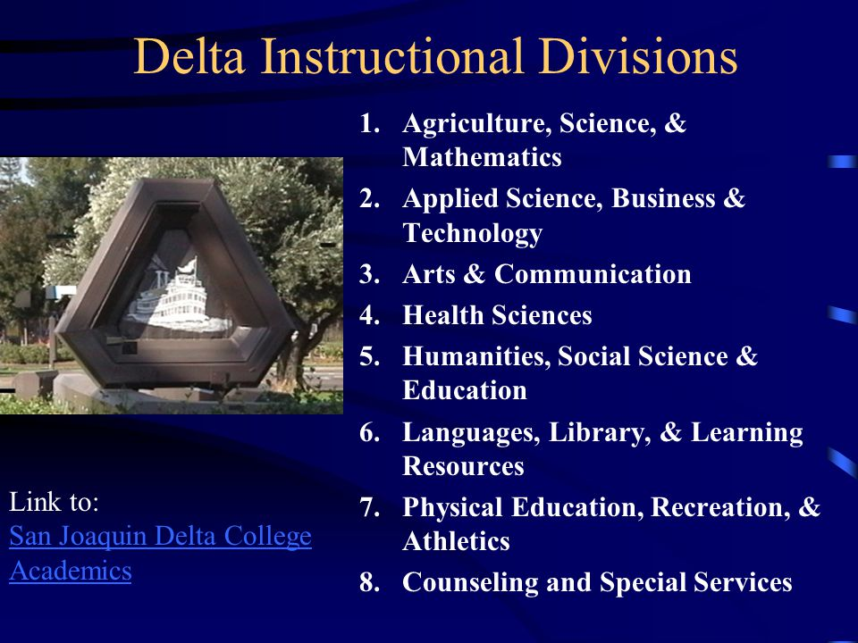 Delta Instructional Divisions