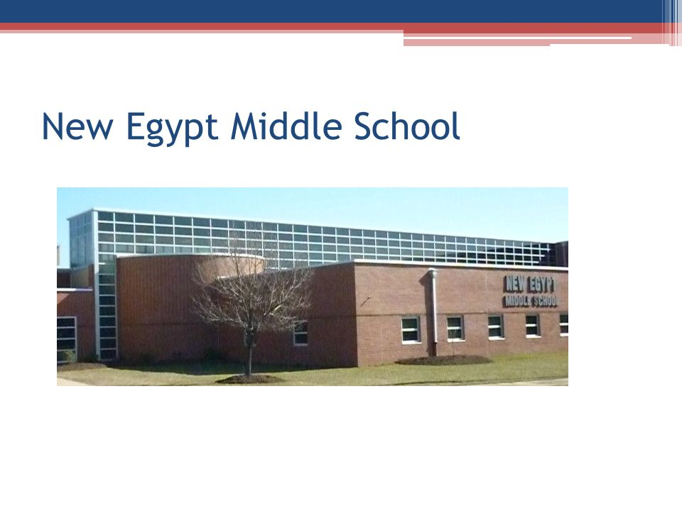 New Egypt Middle School