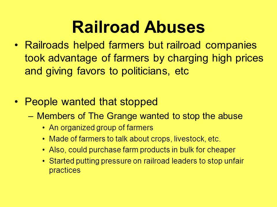 Railroad Abuses