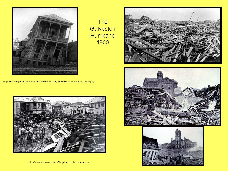 The Galveston Hurricane