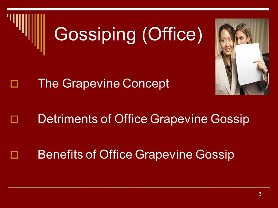Positives and even Disadvantages about Grapevine Connection