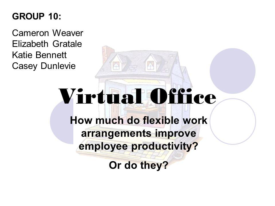 How much do flexible work arrangements improve employee productivity