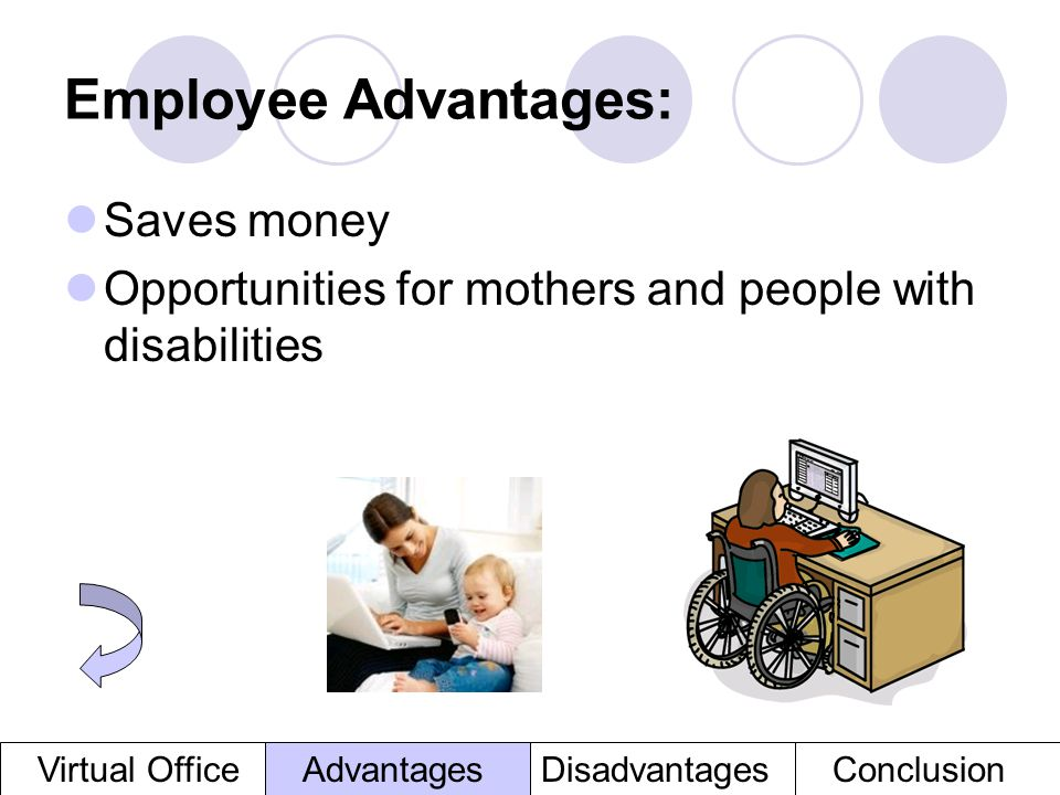 Employee Advantages: Saves money