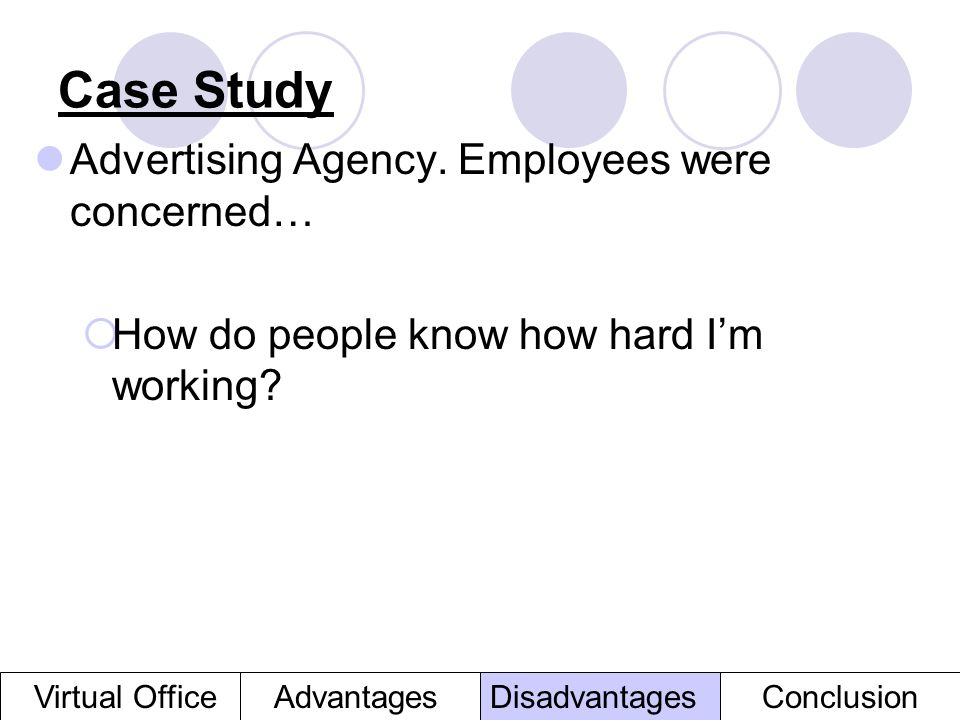 case study of advertising management