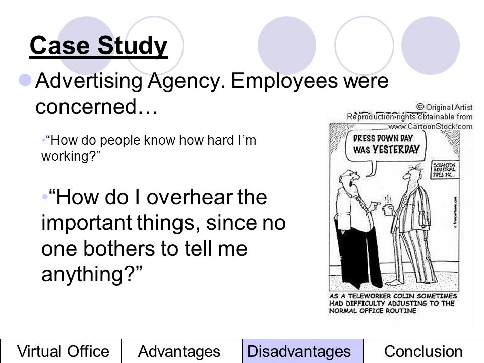 Case Study Advertising Agency. Employees were concerned…