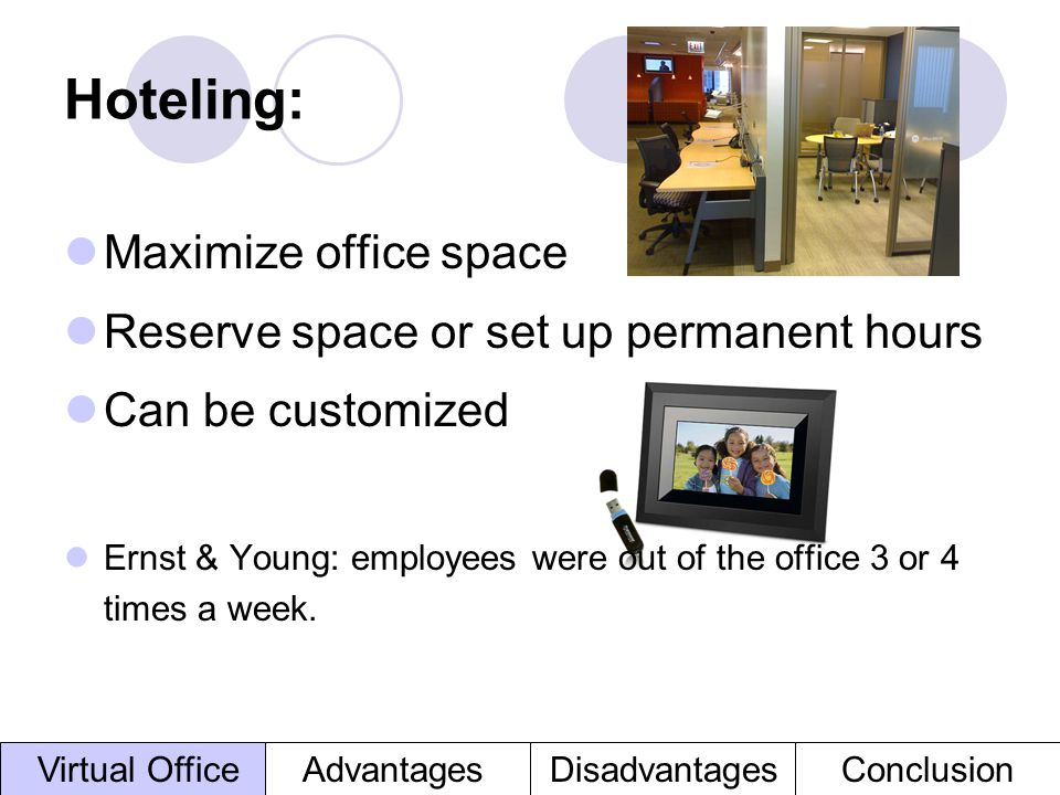 Hoteling: Maximize office space