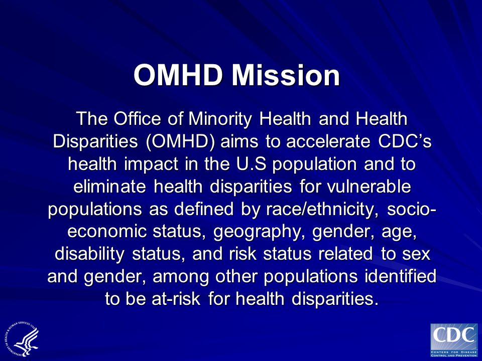 OMHD Mission