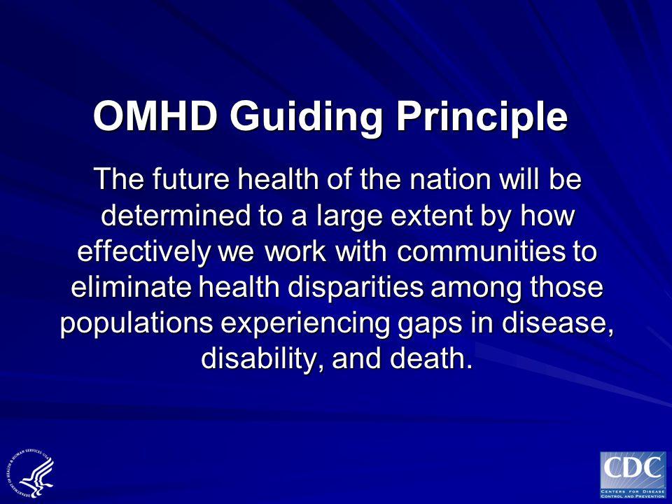 OMHD Guiding Principle