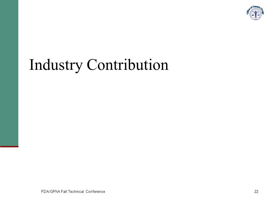 Industry Contribution