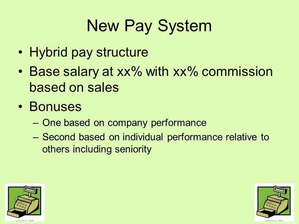 New Pay System Hybrid pay structure