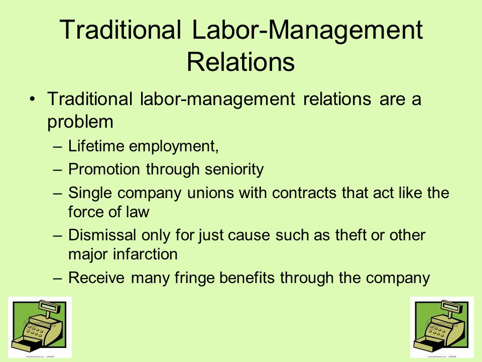 Traditional Labor-Management Relations