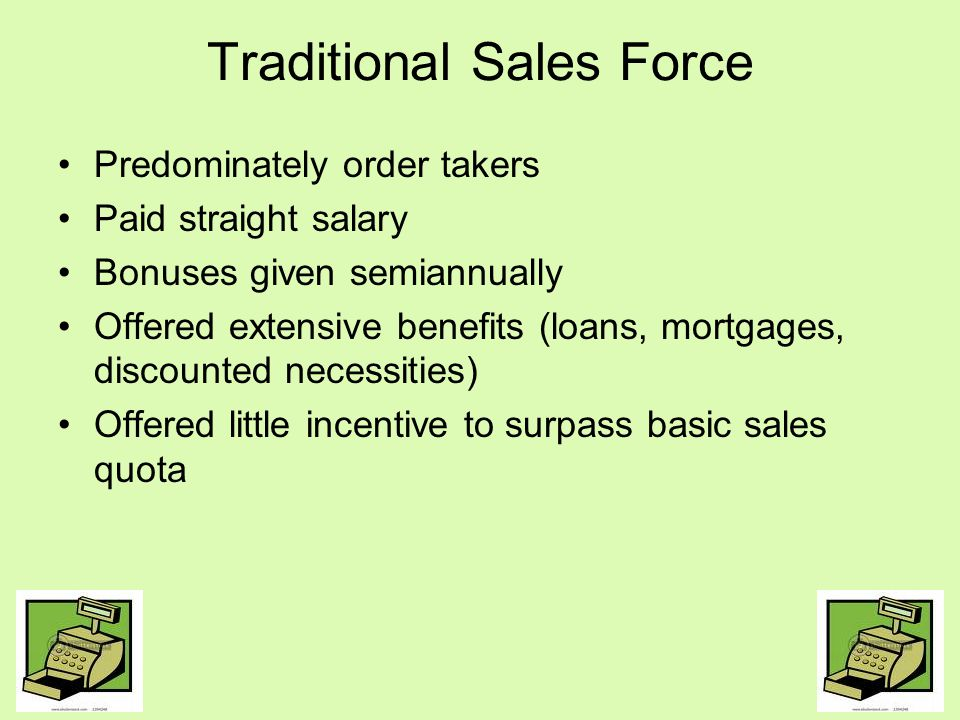Traditional Sales Force
