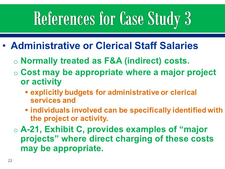 References for Case Study 3