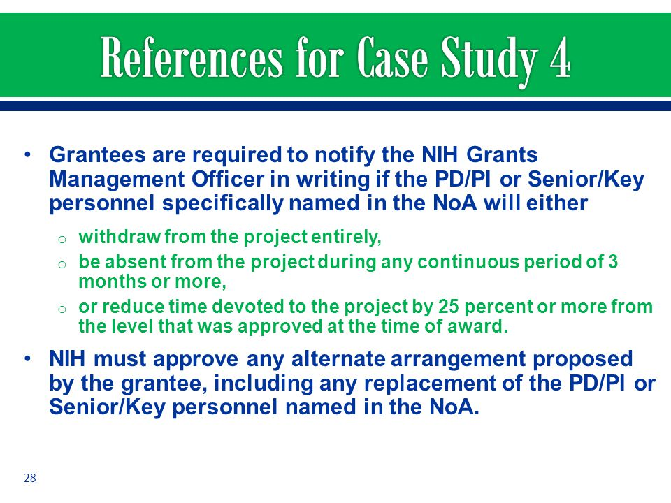 References for Case Study 4