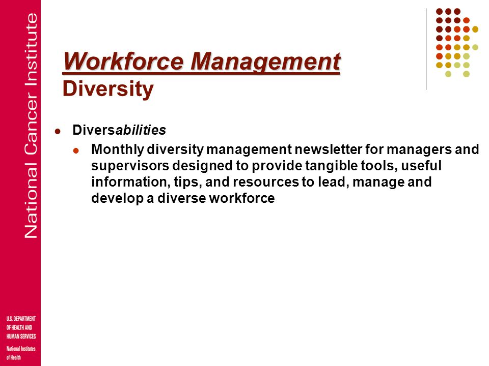Workforce Management Diversity