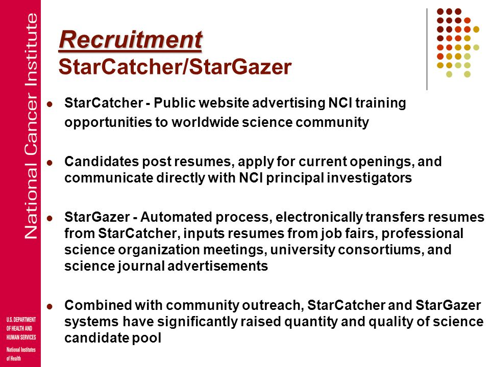 Recruitment StarCatcher/StarGazer