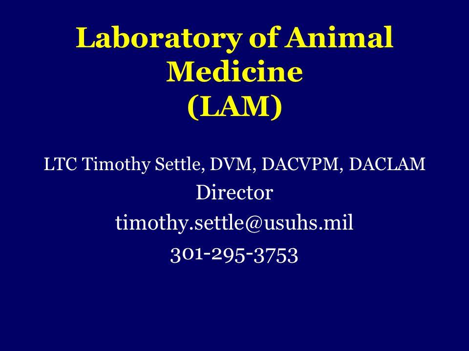 Laboratory of Animal Medicine (LAM)