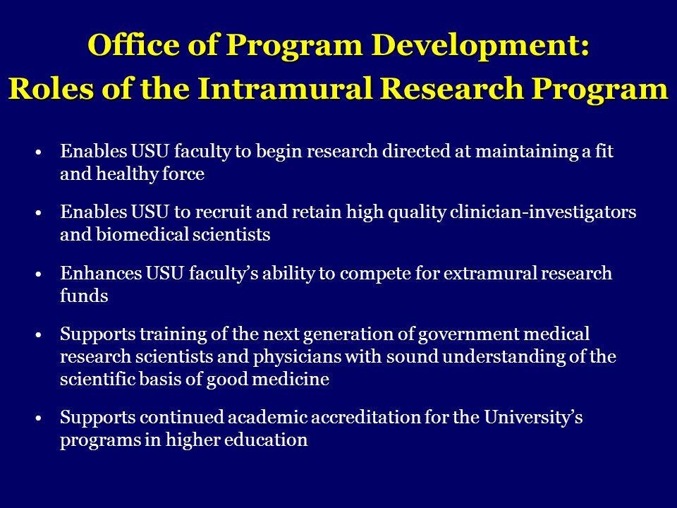 Office of Program Development:
