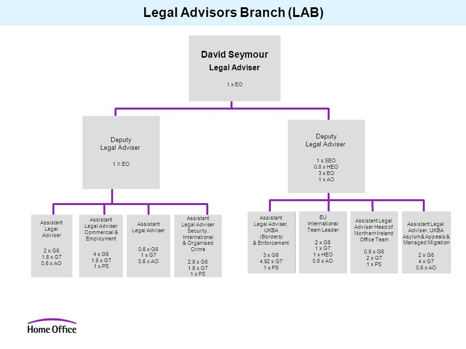 Legal Advisors Branch (LAB)