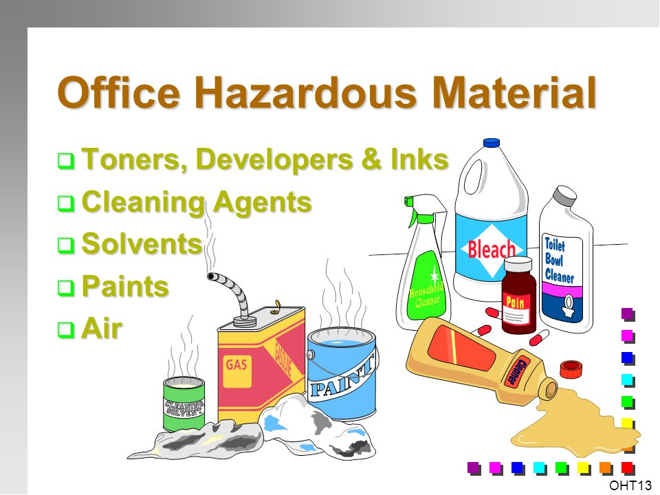 Office Hazardous Material