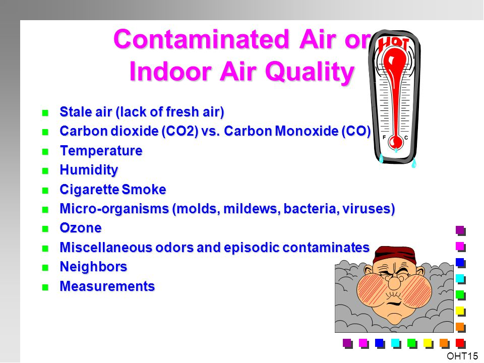 Contaminated Air or Indoor Air Quality