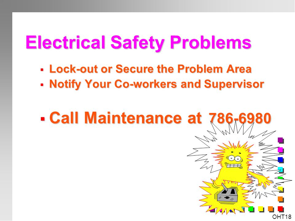 Electrical Safety Problems