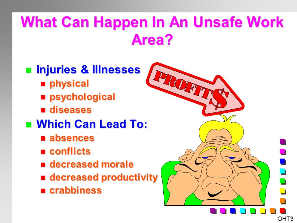 What Can Happen In An Unsafe Work Area