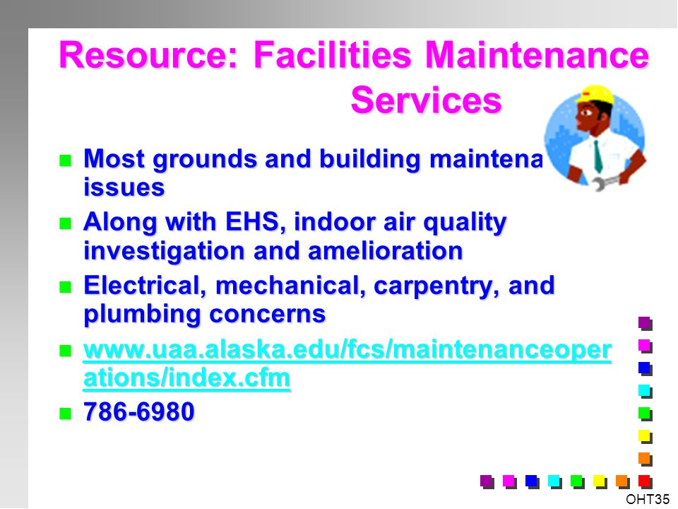 Resource: Facilities Maintenance Services