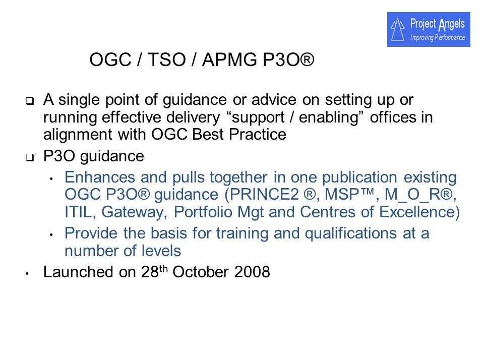 OGC / TSO / APMG P3O®