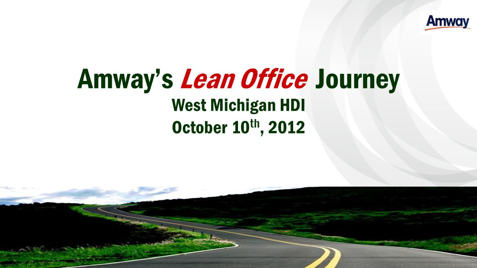 Amway's Lean Office Journey