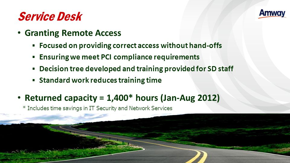 Service Desk Granting Remote Access