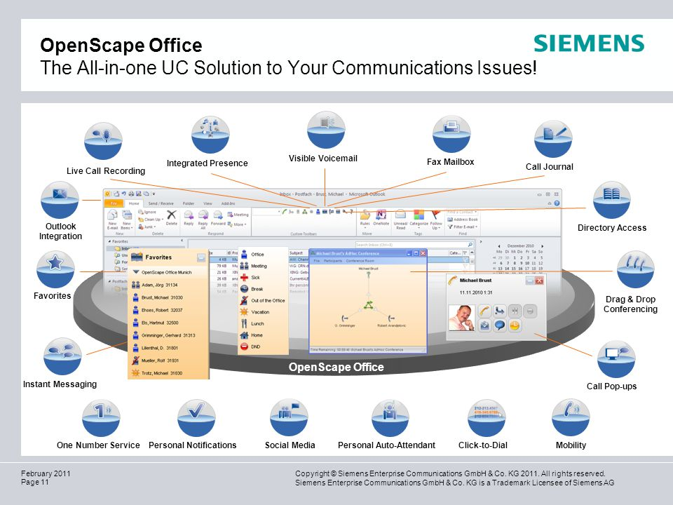 OpenScape Office The All-in-one UC Solution to Your Communications Issues!