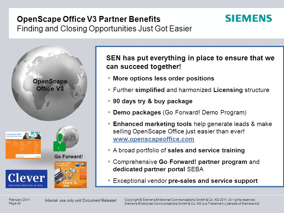 OpenScape Office V3 Partner Benefits Finding and Closing Opportunities Just Got Easier