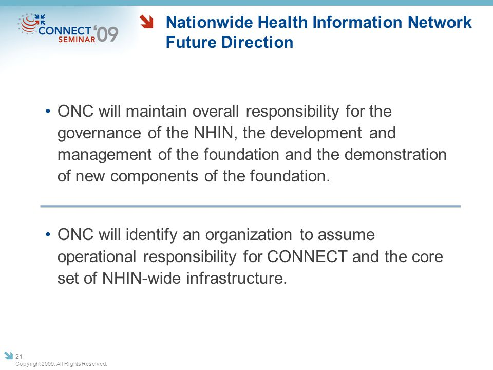 Nationwide Health Information Network Future Direction