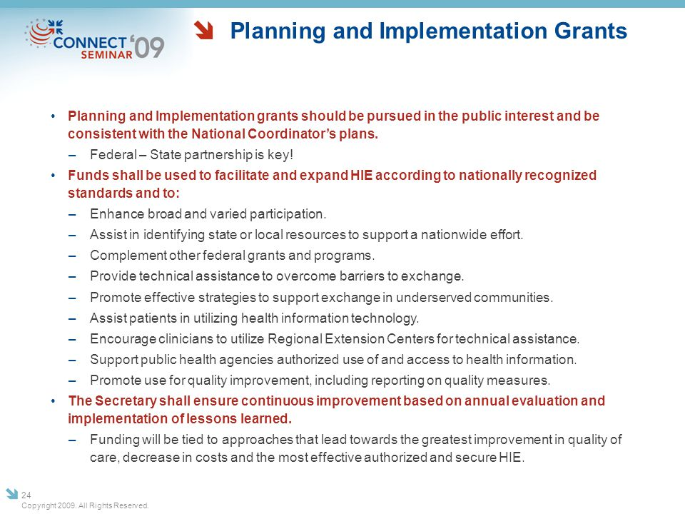 Planning and Implementation Grants