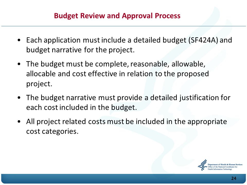 Budget Review and Approval Process